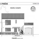 Plan villa Pinède Paris vendome Patrimoine